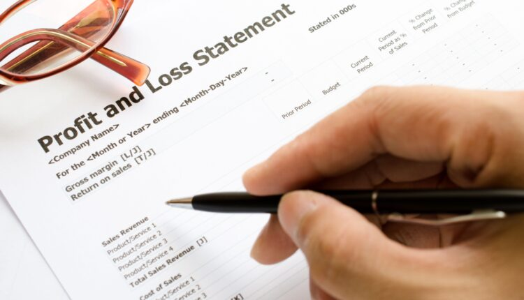 Profit And Loss Statement Of Your Investments